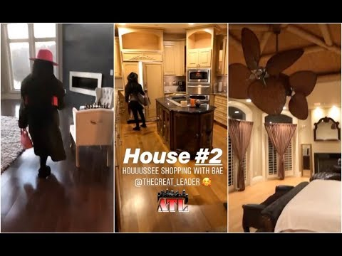 Lil Kim Goes House Shopping In ATL With New Boyfriend
