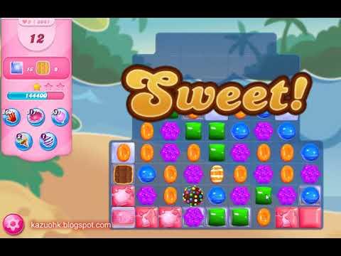Candy Crush Saga Level 8081 (3 stars, No boosters)