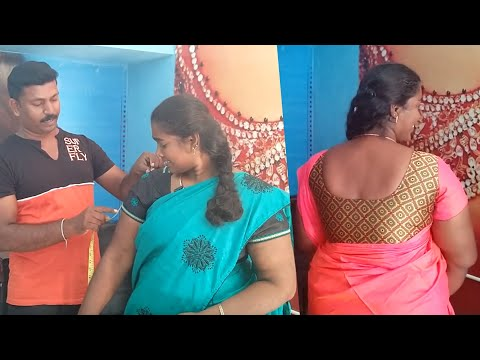 Beautiful Blouse Measurement, Cutting & Stitching with Tailor Bro's Gift   Tailor Bro