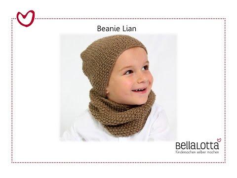 Beanie einfach stricken – mit Bellalotta