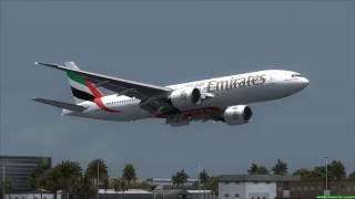 EMIRATES 777 crash landed at Dubai