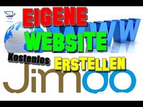 Eigene Website kostenlos erstellen | Jimdo (HD/DE)