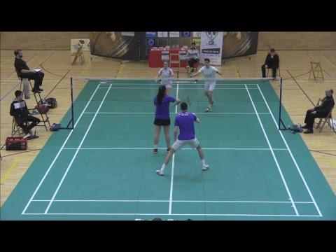 Badminton. Estella. Pista central Máster Nacional Absoluto 7* y Sub 11 5*