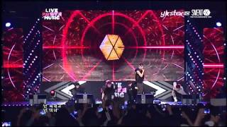 Download Lagu [HD] 130609 EXO - WOLF at Live Power Music Mp3
