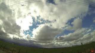 Time Lapse Nubes Carretera San Felipe Nov 2013