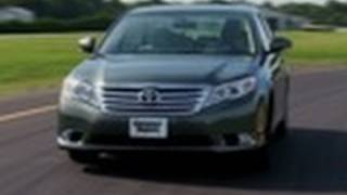 2011-2012 Toyota Avalon Review From Consumer Reports