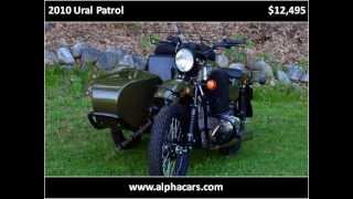 8. 2010 Ural Patrol Motorcycles in Boxborough MA