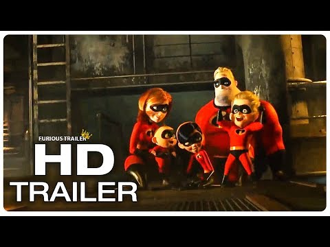 INCREDIBLES 2 Trailer #6 (2018) Superhero Movie Trailer HD