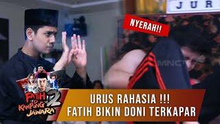 Video UWOOO!!! Jurus Rahasia Fatih Buat Doni Ngibarin Bendera Putih - Fatih di Kampung Jawara Eps 50 MP3, 3GP, MP4, WEBM, AVI, FLV Desember 2018