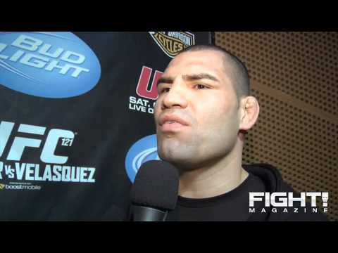 Cain Velasquez I Dont Talk Shit