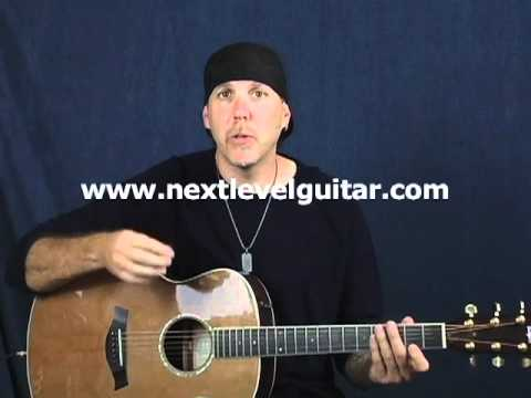 Guitar lesson learn new strum pattern chords rhythm accents major 7s