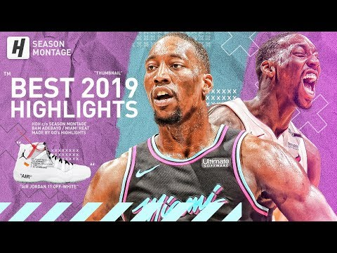 Bam Adebayo BEST Highlights & Moments from 2018-19 NBA Season! DUNK MACHINE!