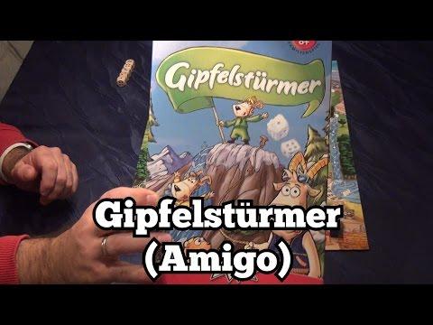 Test Gipfelstürmer (Amigo): Rezension und Beispielrunde von Spiele-Podcast.de