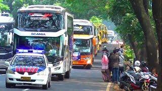 Video MUDIK 2018: RAME BANGET...!!! Konvoi 180 Bus MUDIK GRATIS Bersama Bank JATENG MP3, 3GP, MP4, WEBM, AVI, FLV Juni 2018