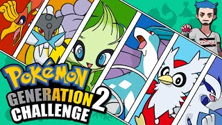 POKÉMON GENERATION 2 CHALLENGE | Johto Naming Challenge by Ace Trainer Liam