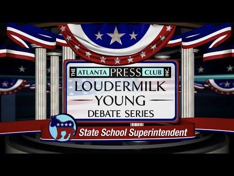 STATE SCHOOL SUPERINTENDENT DEMOCRATIC PRIMARY DEBATE