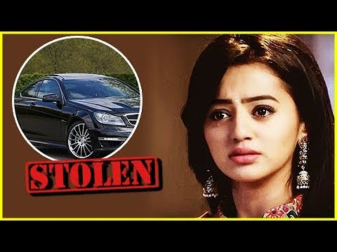 Helly Shah's Car STOLEN From Her Residence | Devan