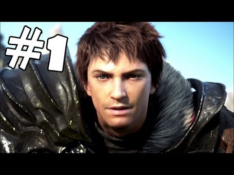 Final Fantasy XIV A Realm Reborn Walkthrough Part 1 Gameplay Review Let's Play Playthrough PC PS3