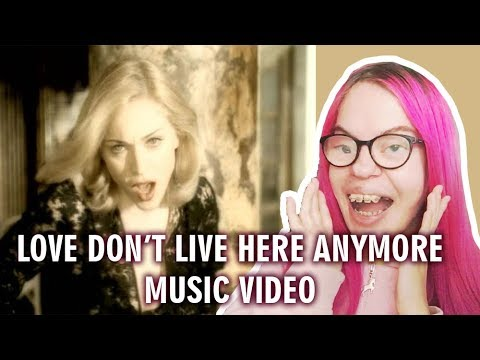 MADONNA - LOVE DON'T LIVE HERE ANYMORE (MUSIC VIDEO REACTION) | Sisley Reacts