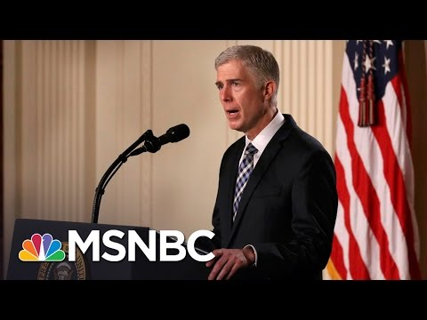Senate Democrats Filibuster Neil Gorsuch's SCOTUS Nomination | MSNBC