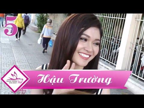 Hành Trình Văn Hóa Việt | Á hậu Thùy Dung xinh đẹp trong hậu trường Tập 5