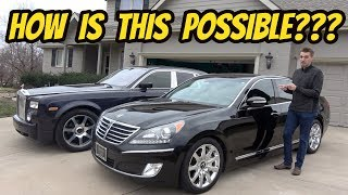 Here's Why this $15,000 Hyundai Equus Is More Luxurious Than My Rolls-Royce Phantom