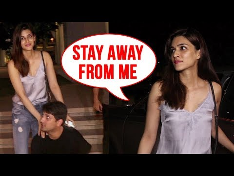 Kriti Sanon ABUSES Friend, Awkward Moment In Front