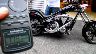 8. 2012 Honda Fury Stock exhaust VS FSD exhaust.avi