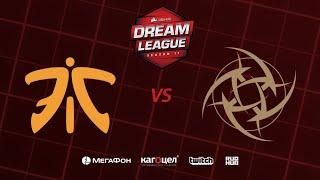 Fnatic vs Nip, DreamLeague Season 11 Major, bo3, game 2 [4ce & Eiritel]