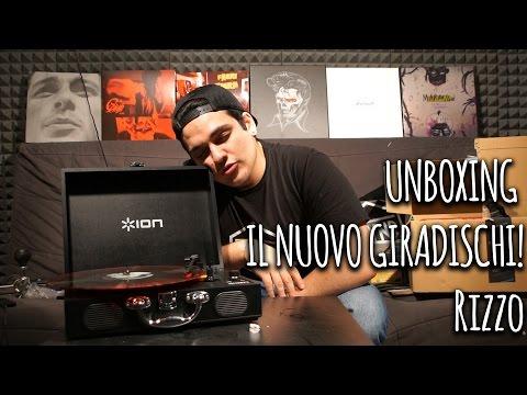 UNBOXING • IL NUOVO GIRADISCHI! • Rizzo