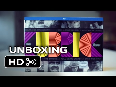 Stanley Kubrick: The Masterpiece Collection Blu-ray Unboxing - Movie HD
