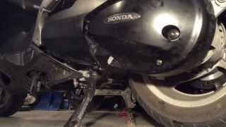 8. Honda Silverwing FJS600 Final Drive Gear Oil Change