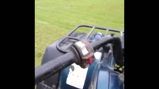 9. Yamaha Grizzly 600 test ride