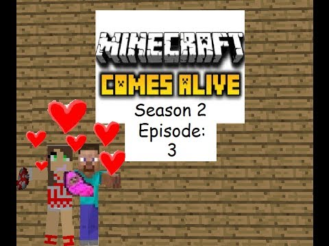 Minecraft Comes Alive SMP S2 Episode 3:PREPARING FOR THE BIG MOOOOVE!