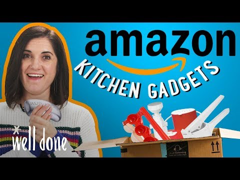 Mom Reviews Top Amazon Kitchen Gadgets | Mom Vs | Well Done
