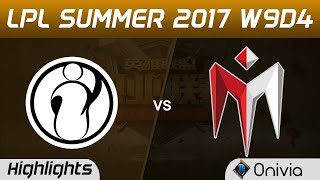 IG vs IM Highlights Game 2 LPL SUMMER 2017 Invictus Gaming vs I May by Onivia Make money with your LoL knowledge...