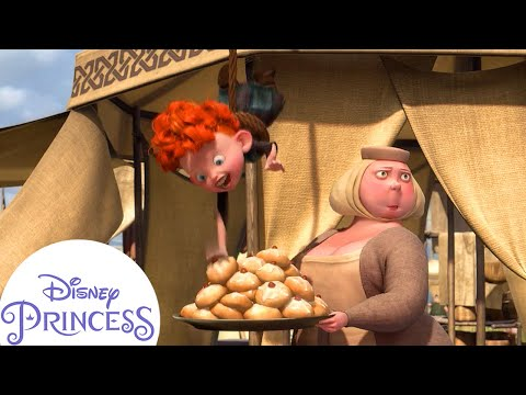 Funniest Pranks from Merida's Little Brothers | Disney Princess