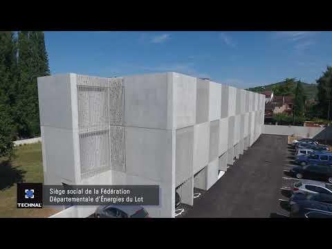 Siège social de la Fédération Départementale d'Energies du Lot, Cahors (46)