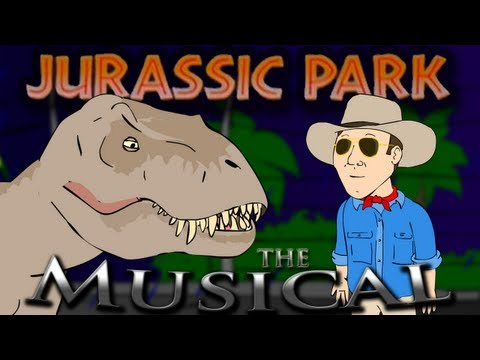 Video ♪ JURASSIC PARK THE MUSICAL - Animation Parody download in MP3, 3GP, MP4, WEBM, AVI, FLV January 2017