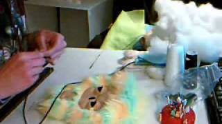 Timelapse- Sewing an Antlered Monster Plush