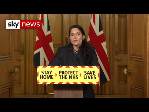 In full: Home Secretary Priti Patel holds COVID news briefing