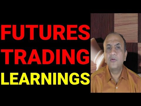Futures Trading Learnings for Beginners - 7 Learnings (Hindi)