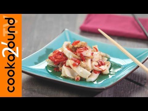 calamari saltati piccanti - ricetta