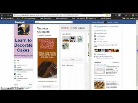 Adding Pinterest to Facebook Fanpage – with iFrame