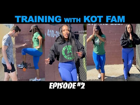 How to Sprint Pain-Free with World Champs Melisa and Miki Barber! Training With KOT Fam Episode 2