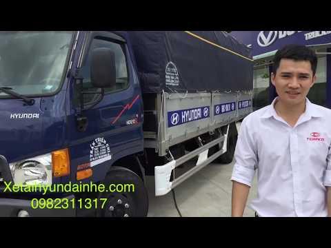 xe tải hyundai 120sl 8 tấn thùng dài 6m3