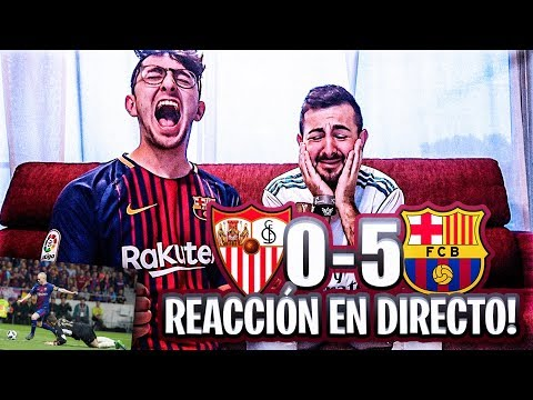 Barcelona 5-0 Sevilla REACCIONES de la Final Copa del Rey