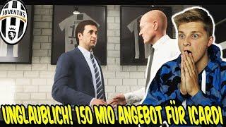 Unglaubliches 150.000.000€ Angbeot von Real für ICARDI! - Fifa 19 Juventus Turin Karrieremodus 37
