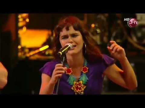 Latinoamérica - Calle 13 + Inti Illimani + Camila Moreno en Viña del Mar, 2011, Chile.