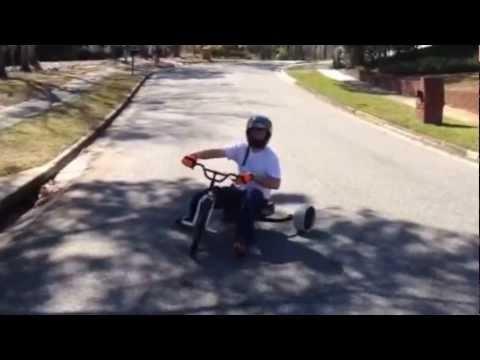 Drift Trike down hill (видео)